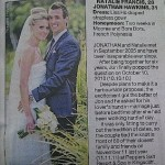 Kingscliff Wedding Photography Featured in Sydney Newspaper
