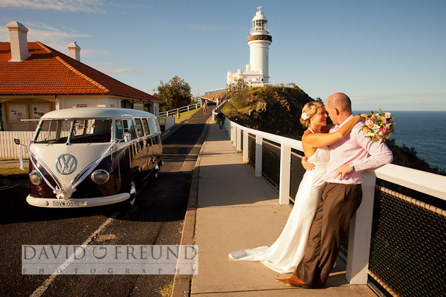 Byron Bay lighthouse wedding photography