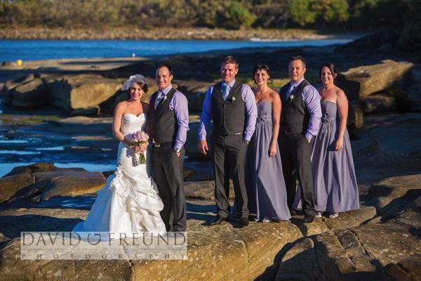 Yamba beach wedding photography